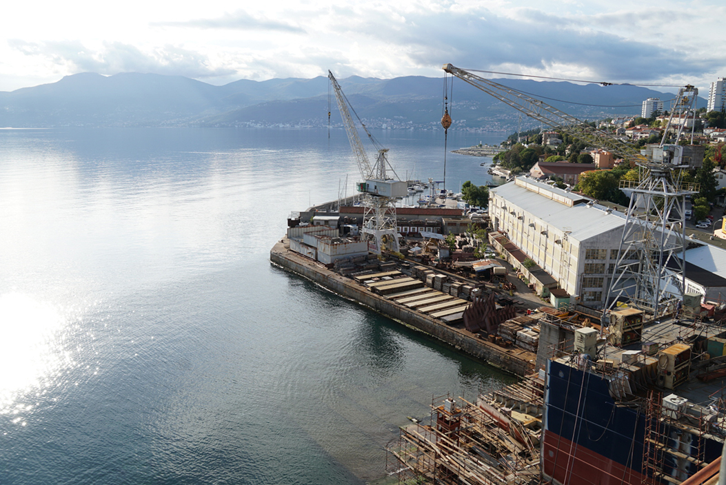 3.maj shipyard in Rijeka