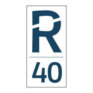 R40 logo