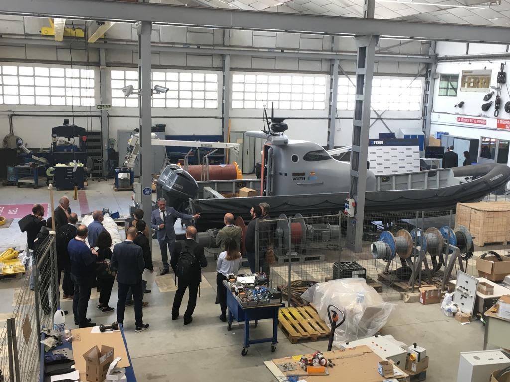 Industry tour at Ferri
